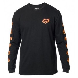 FLAME HEAD LS TEE [BLK]